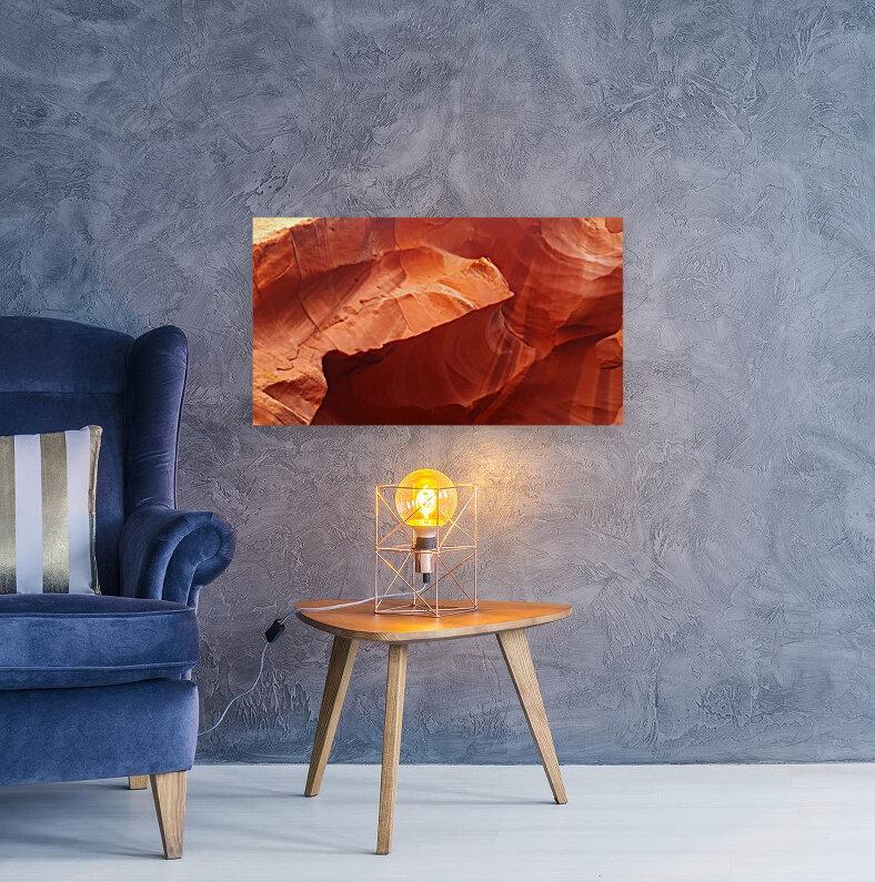 Eroded Wall of Antelope Canyon   Art