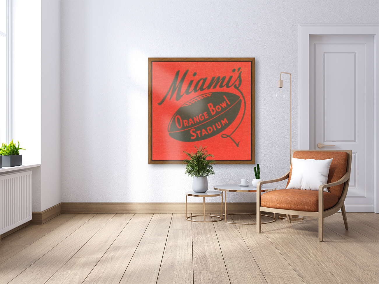 1950 Miami Orange Bowl  Art