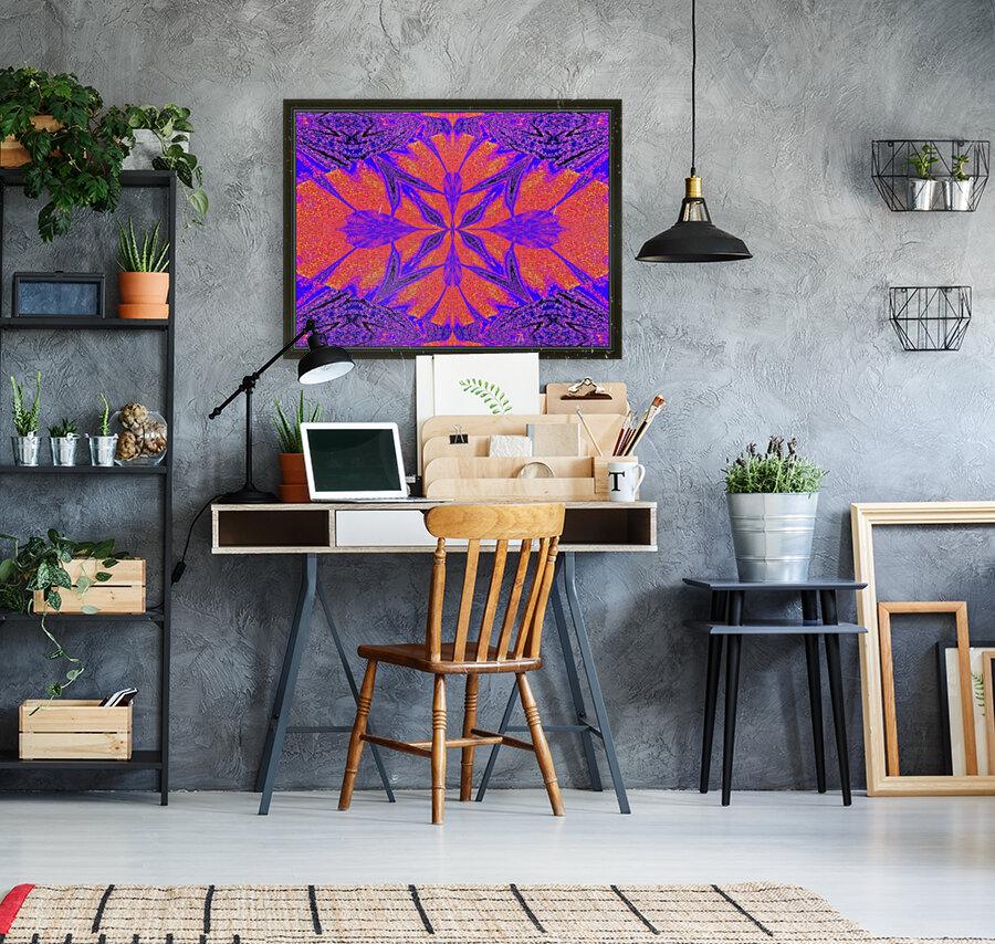 Purple Butterfly In Sunshine 1  Art
