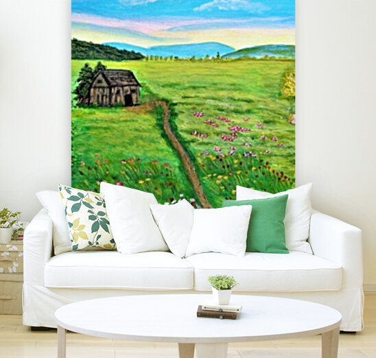 Sweet Little Home on Plains  Art