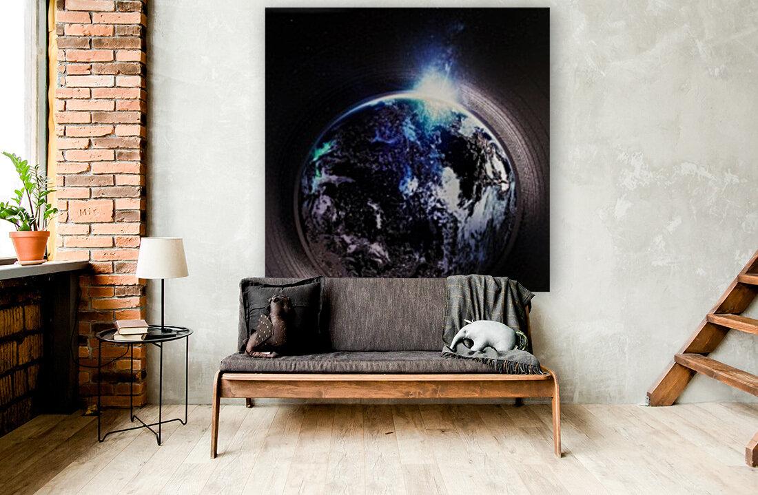 Cosmic Sapphire  Art