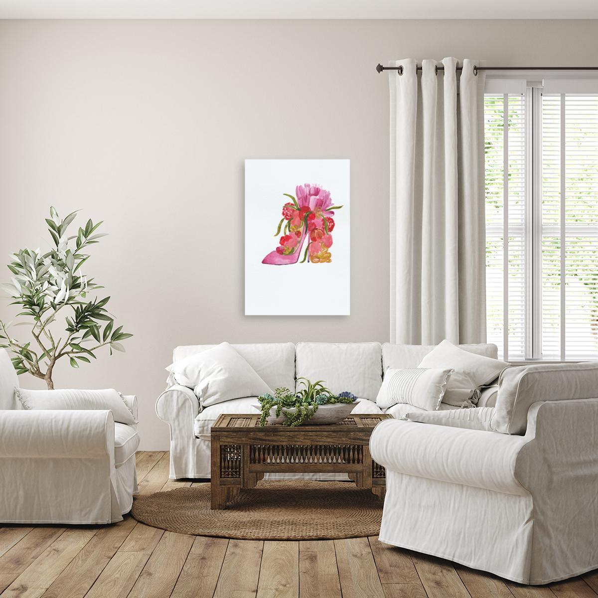 Flower heel  Art