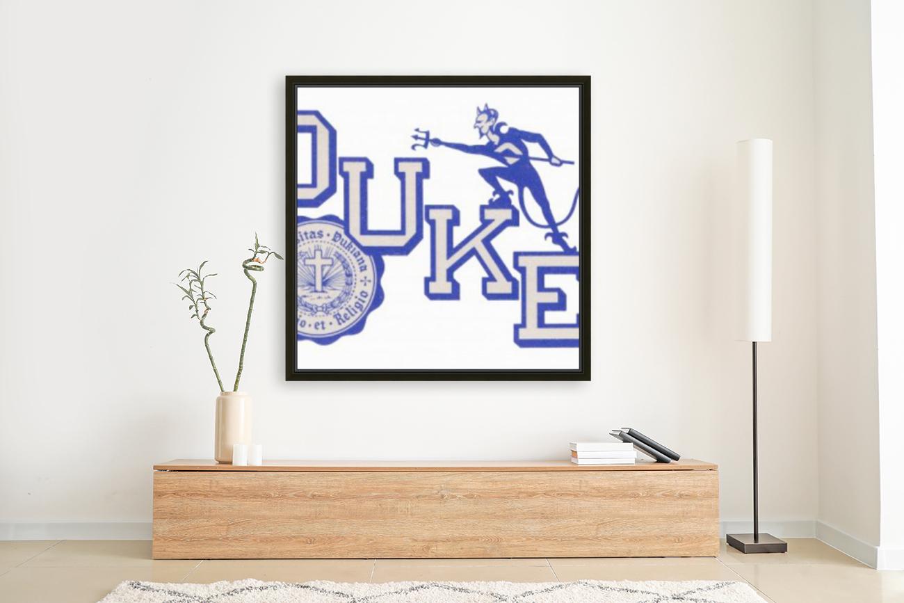 Vintage Duke University Art  Art