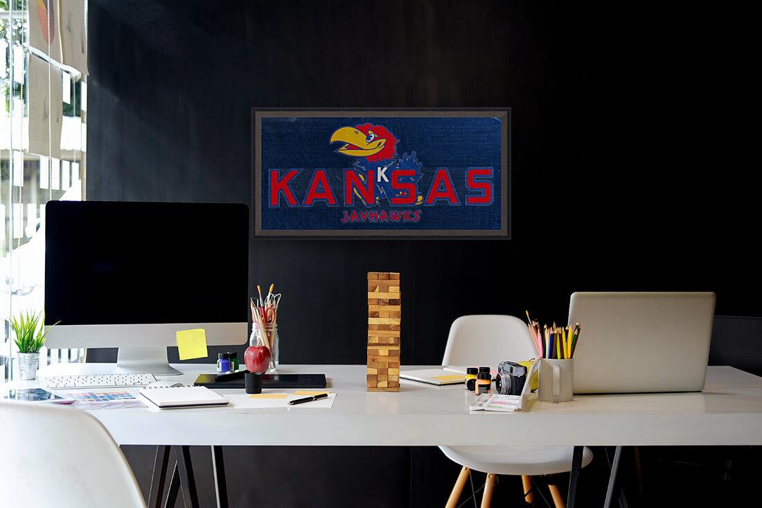 1950s Kansas Jayhawk Art  Art