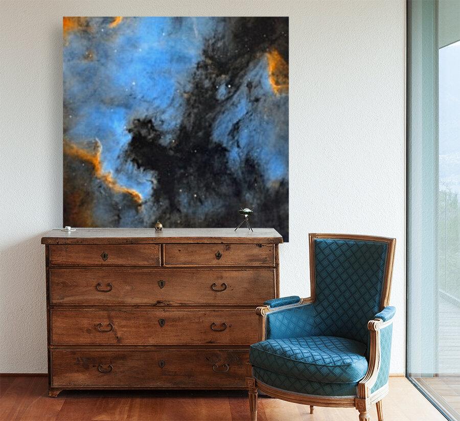 North American and Pelican Nebula  Art
