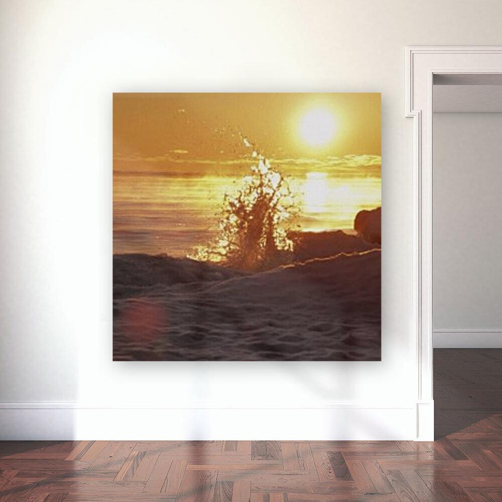 A Splash of Sunrise  Art