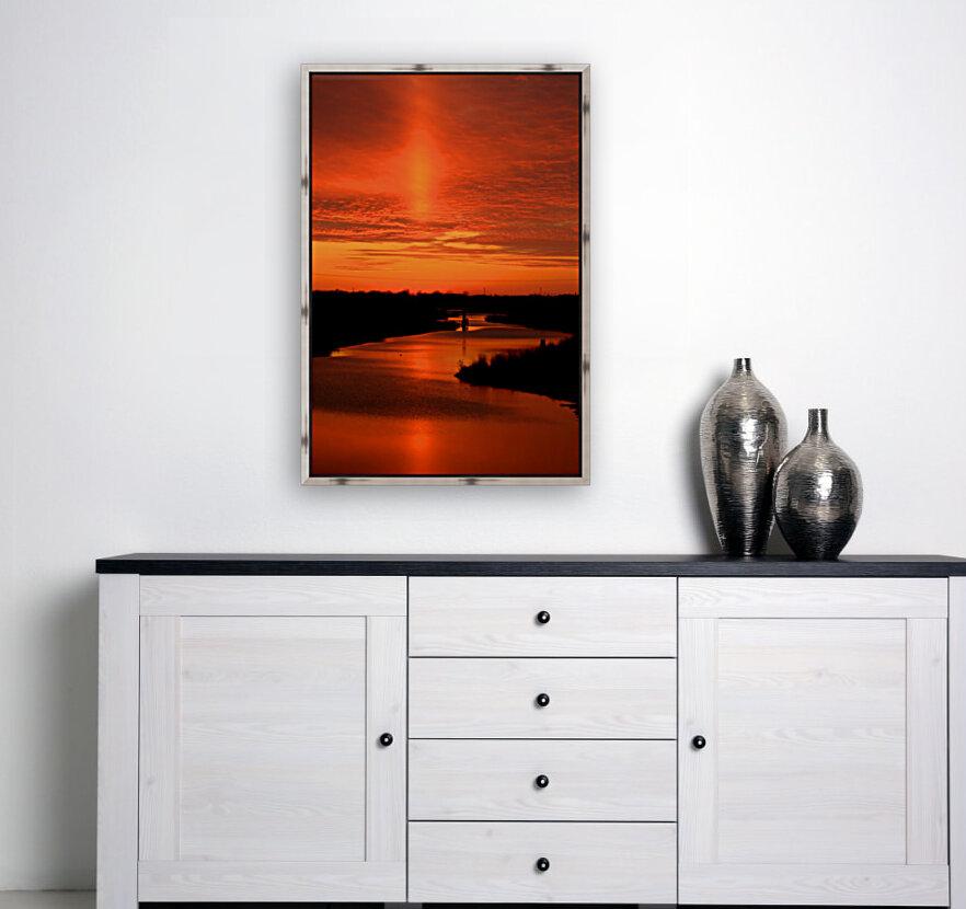 Big Ditch Sunset  Art
