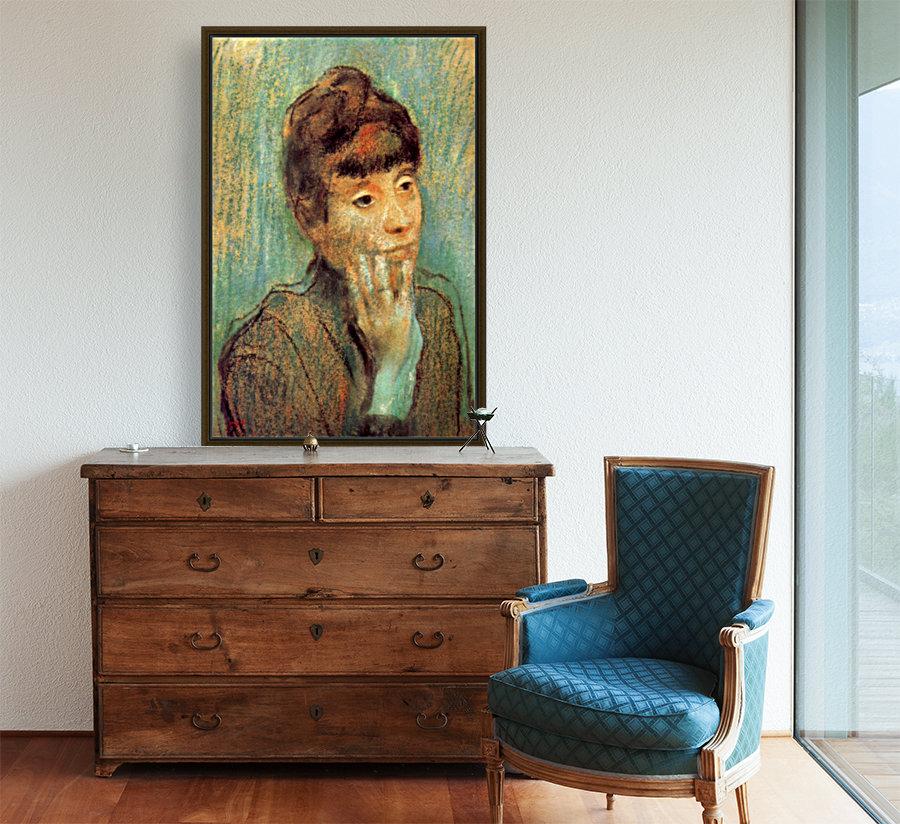 Portrait of a Lady by Degas  Art