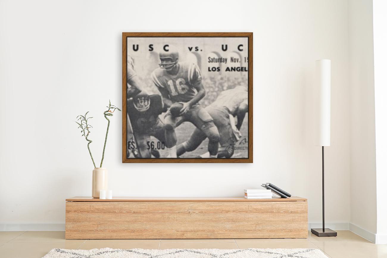 1966 UCLA vs. USC  Art
