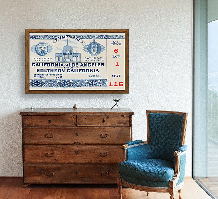 1940 USC vs. UCLA  Art