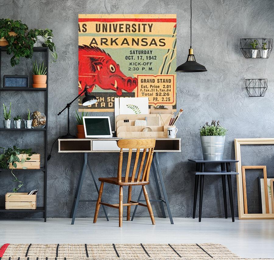 1942 Arkansas vs. Texas  Art