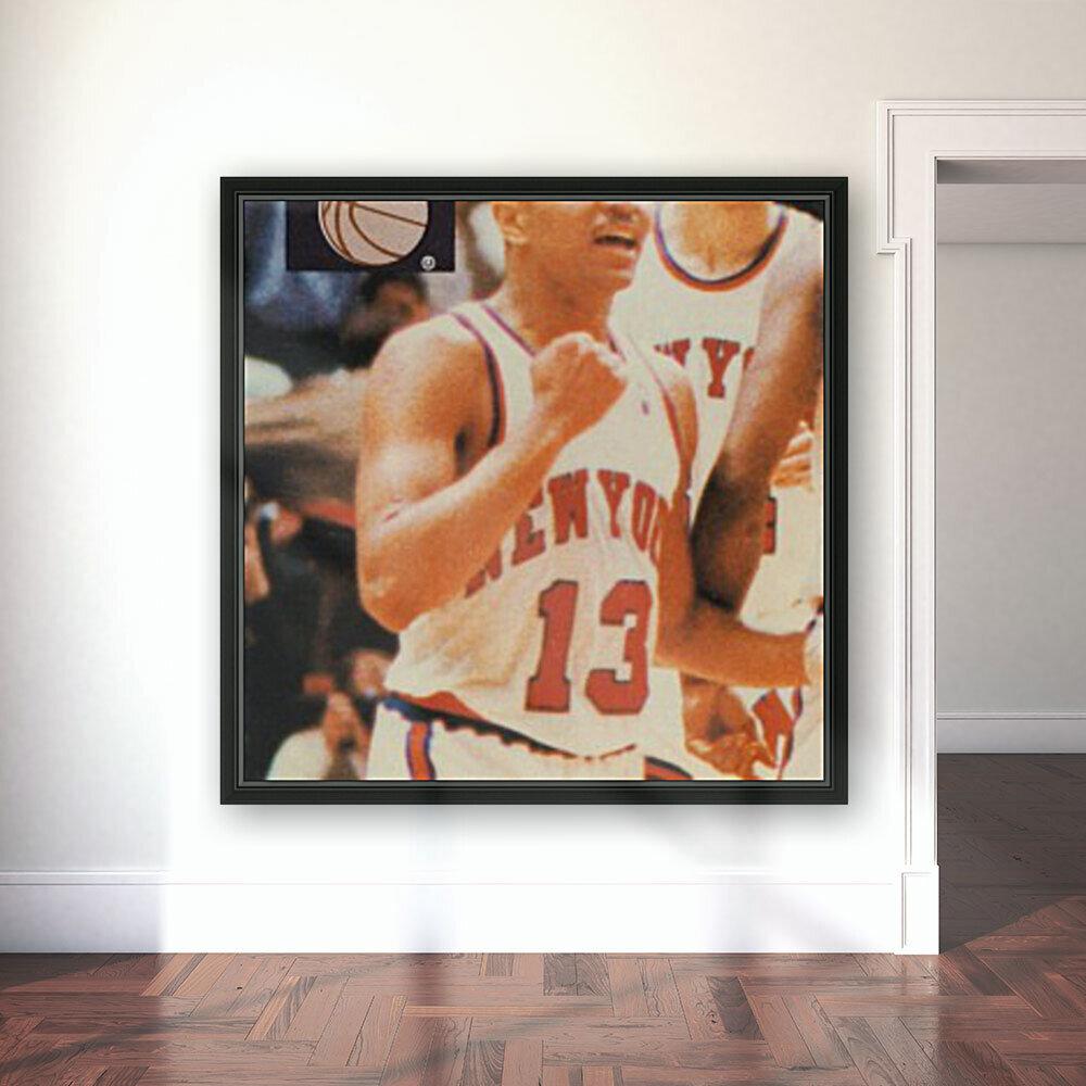 1988 New York Knicks Mark Jackson  Art