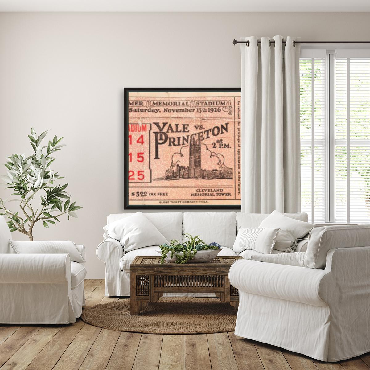 1926 Yale vs. Princeton  Art