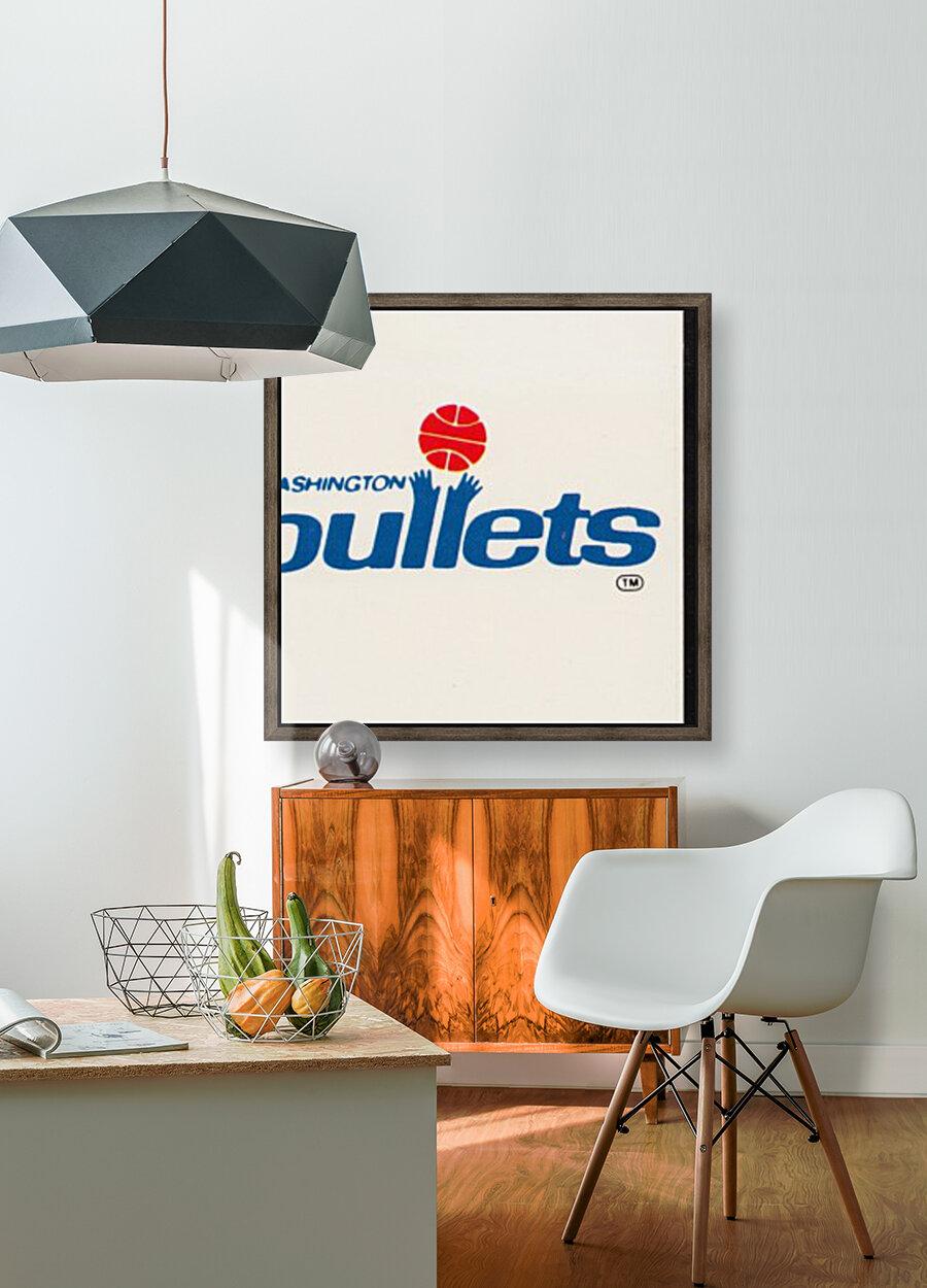 1979 Washington Bullets Fleer Decal   Art