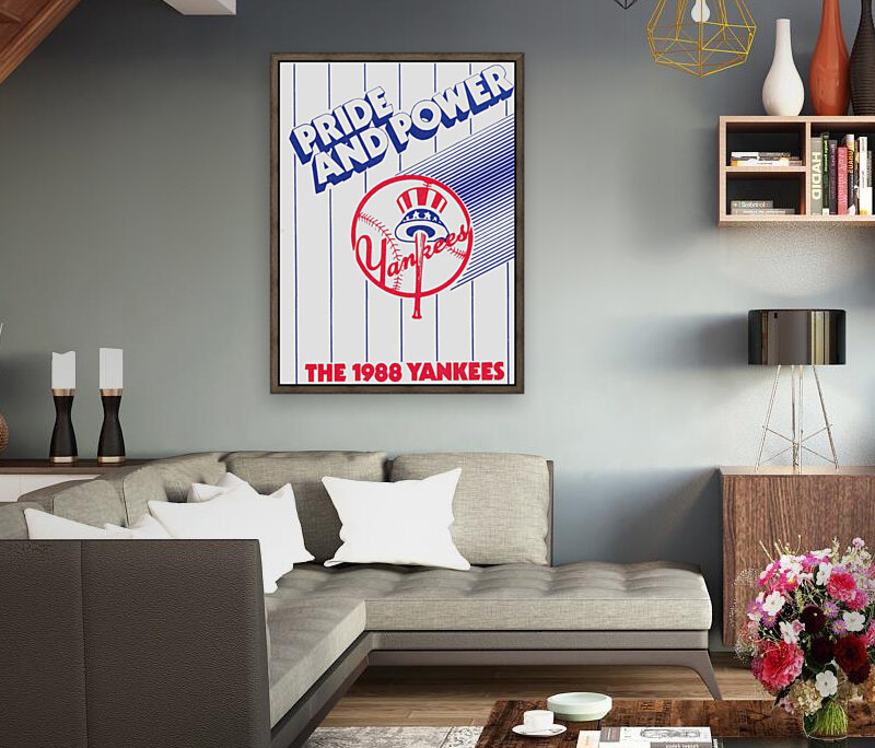 1988 New York Yankees Art  Art