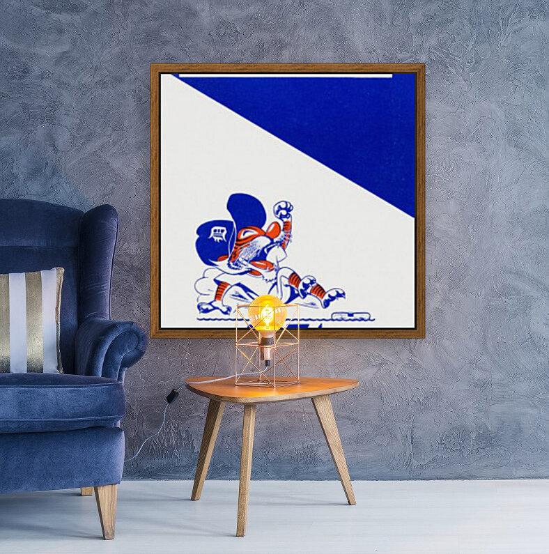 1974 Detroit Tigers Art  Art