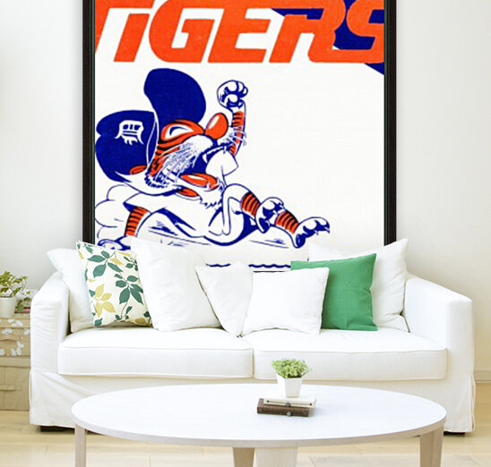 Tigers Cartoon  Art