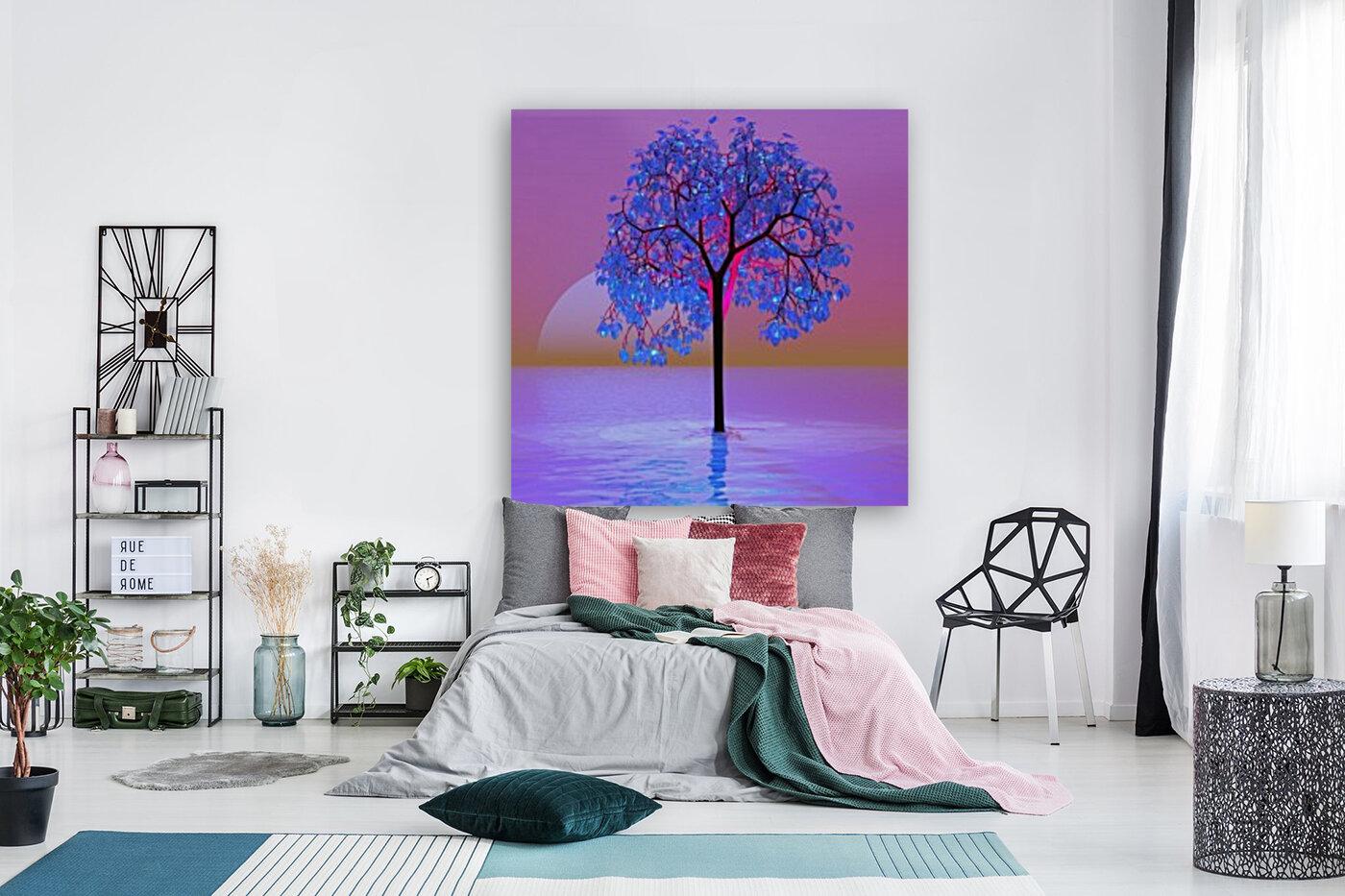 Tree Sunset  Art