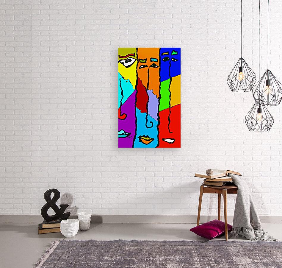 Three Friends  Art