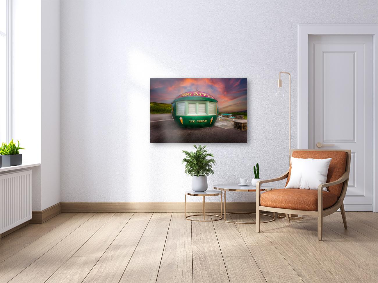 Big Apple Kiosk in Mumbles  Art