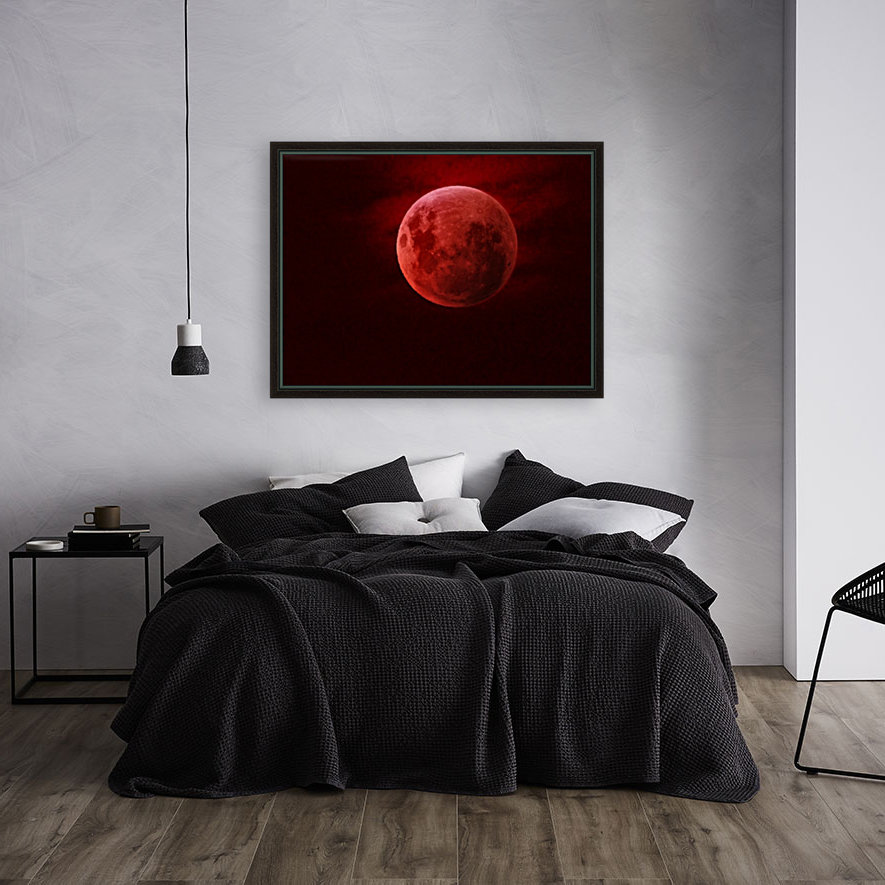 One Red Moon  Art
