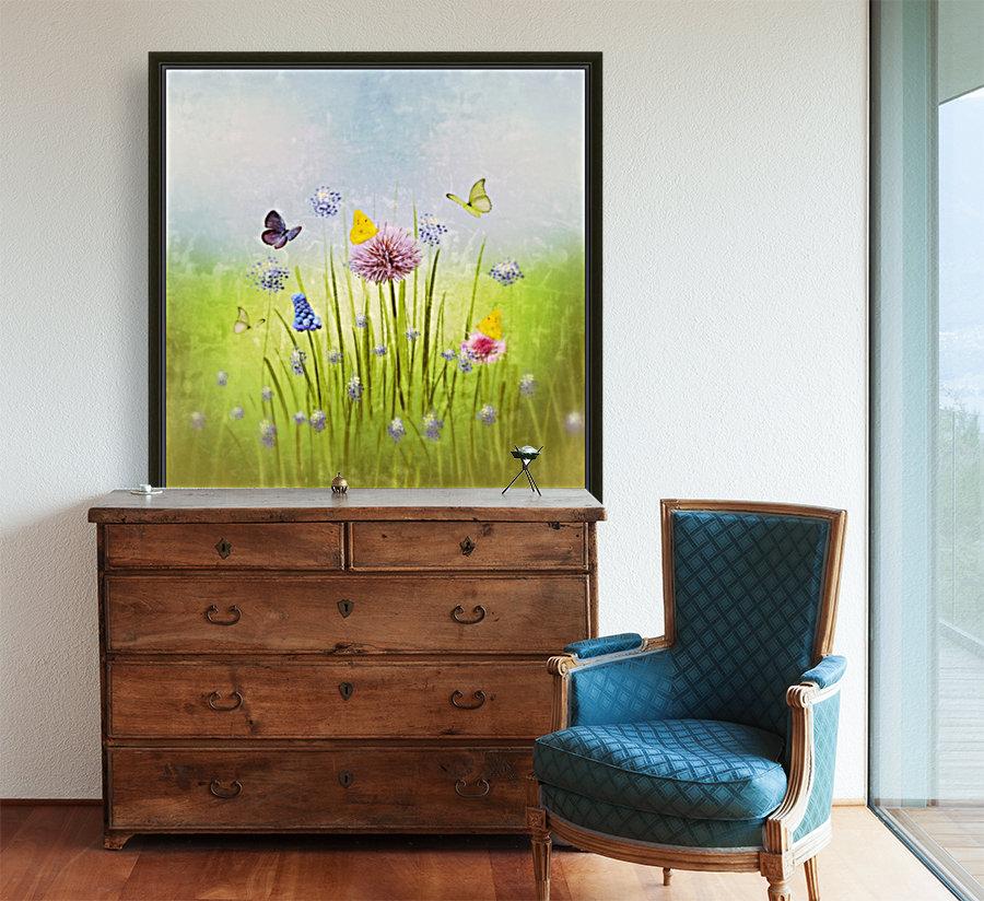 Spring meadow  Art