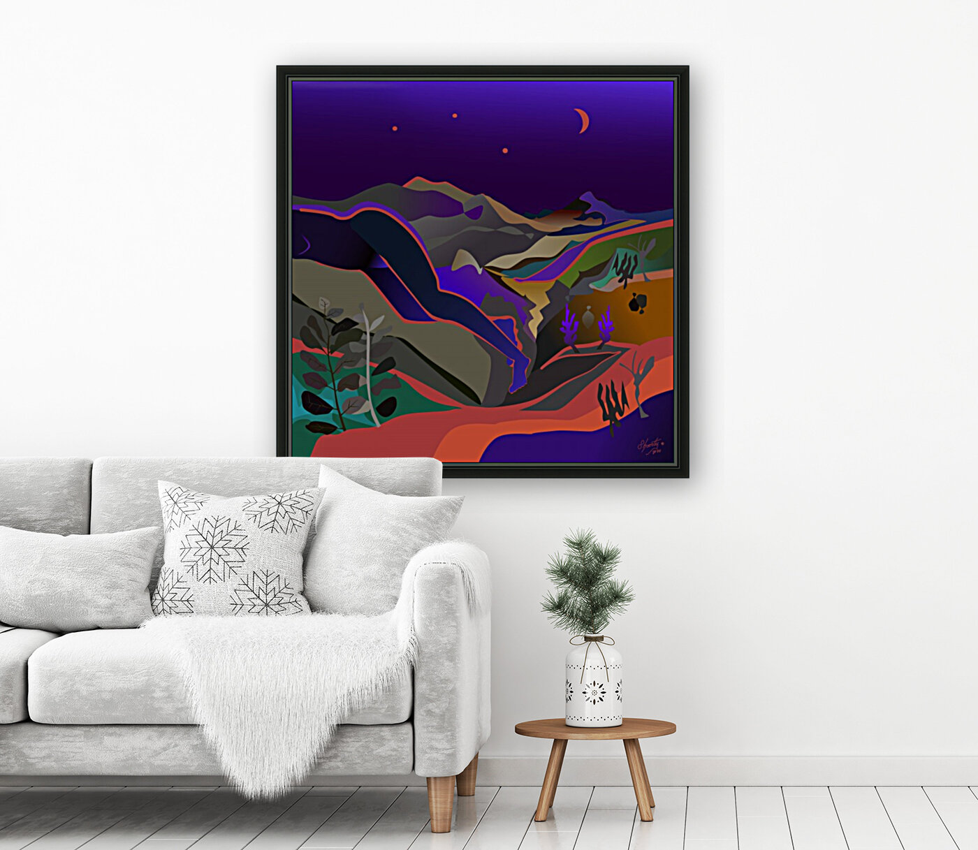 Dreaming at Lookout Mountain  Art