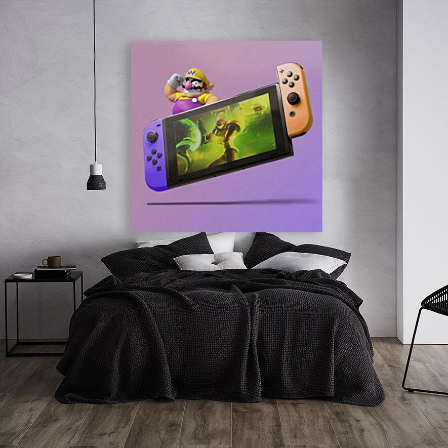 Nintendo Switch Wario  Art