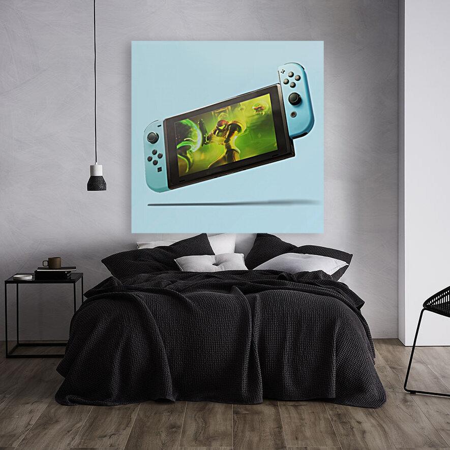 Nintendo Switch Blue  Art