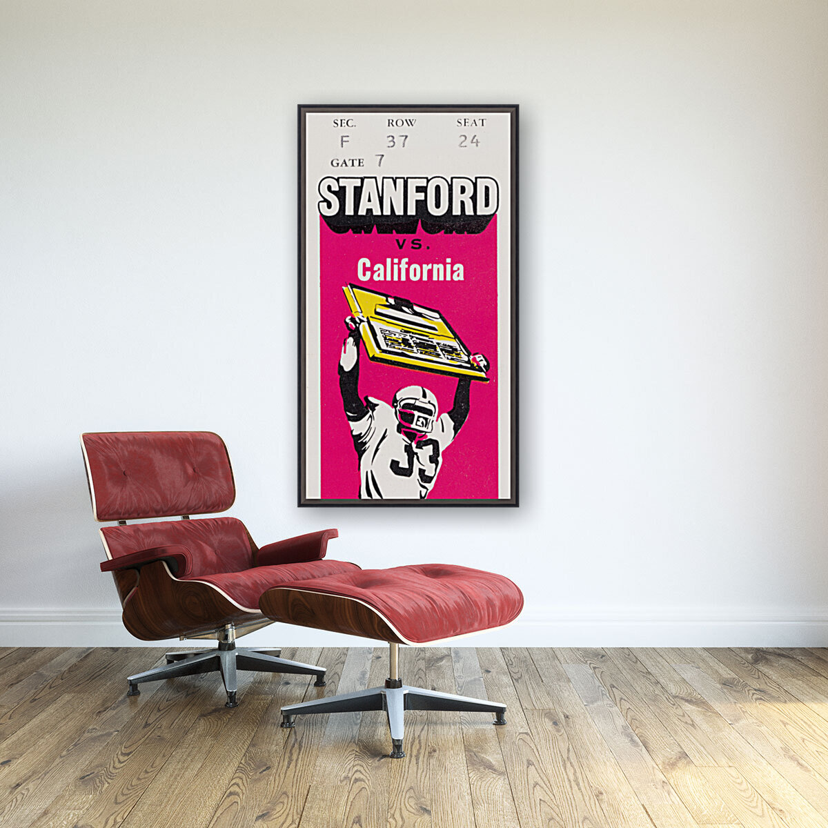 1979 California vs. Stanford with Floating Frame