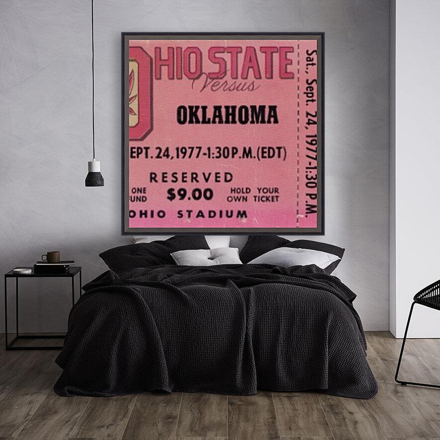 1977 Oklahoma vs. Ohio State  Art