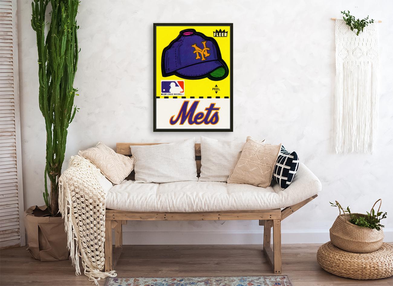 1981 New York Mets Fleer Decal Art  Art