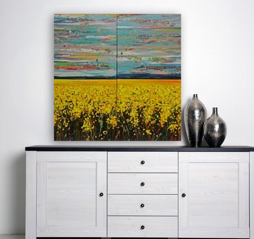 Arcadia Full Painting  Art