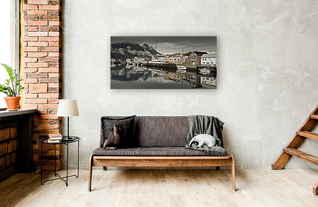 Fishing village, Lofoten, Norway  Art
