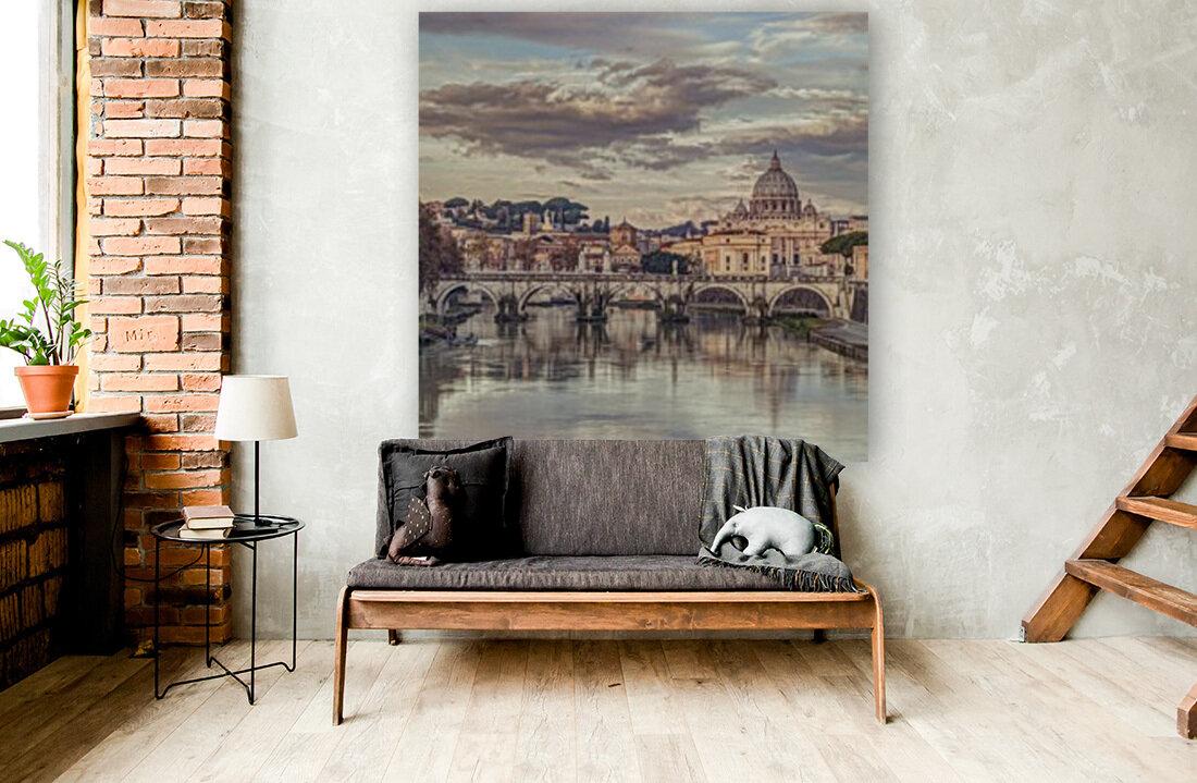 View of Basilica di San Pietro in Vatican, Rome, Italy  Art