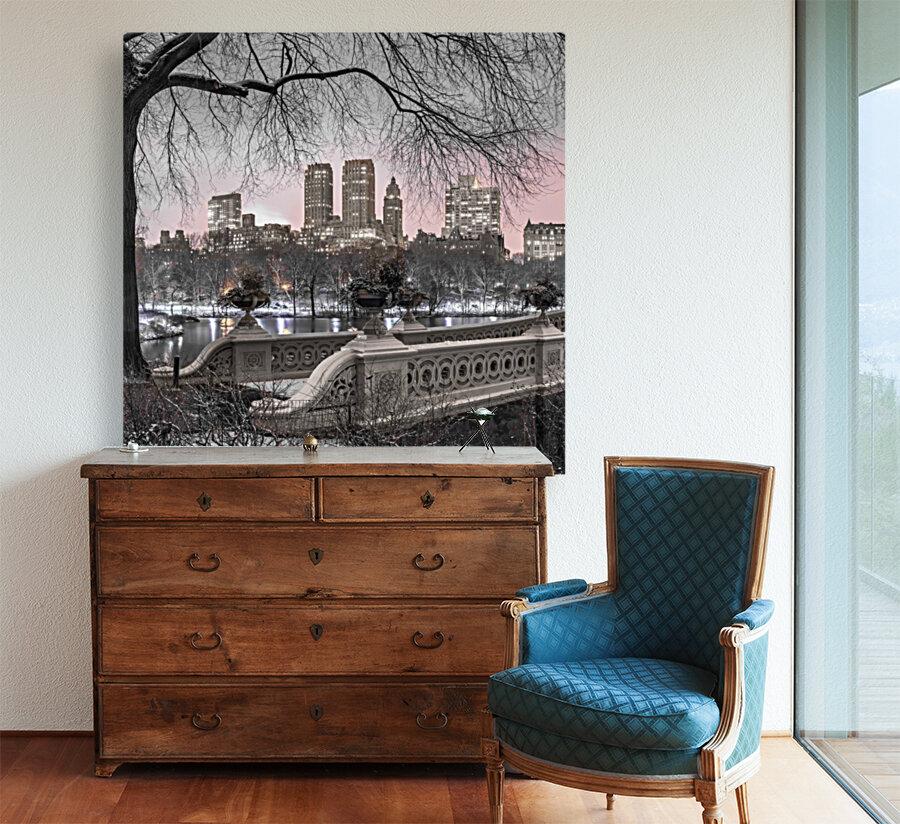 Central park with Manhattan skyline, New York  Art