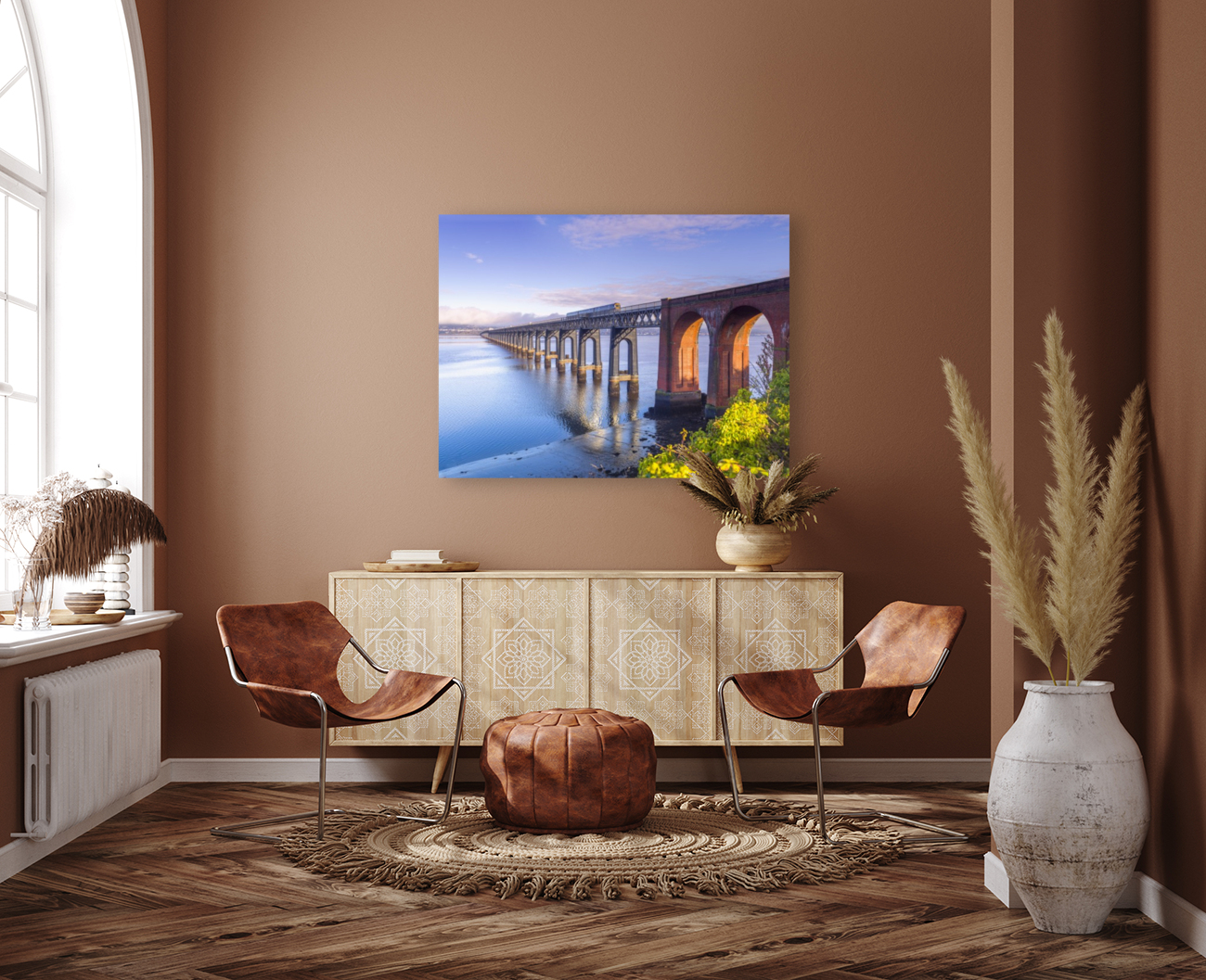 Tay Rail Bridge, Dundee, Scotland  Art