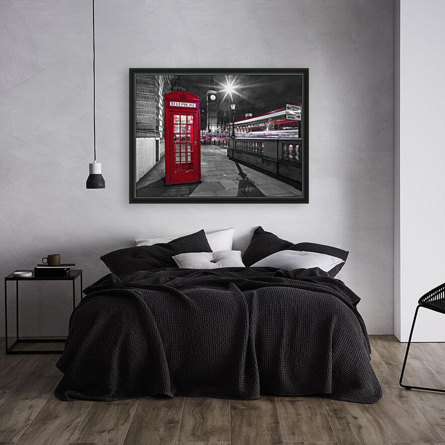 Telephone box with Big Ben, London, Uk  Art