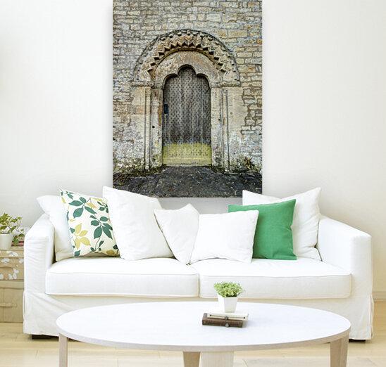 Front door of old cottage in Bibury,  Cotswold, UK  Art