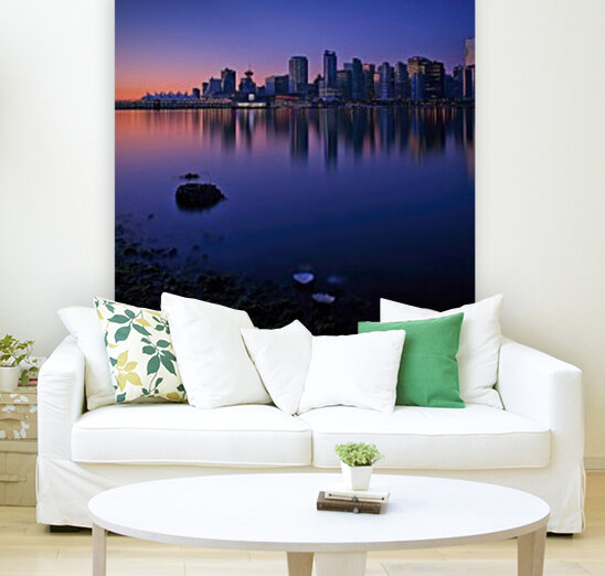Vancouver Skyline  Art