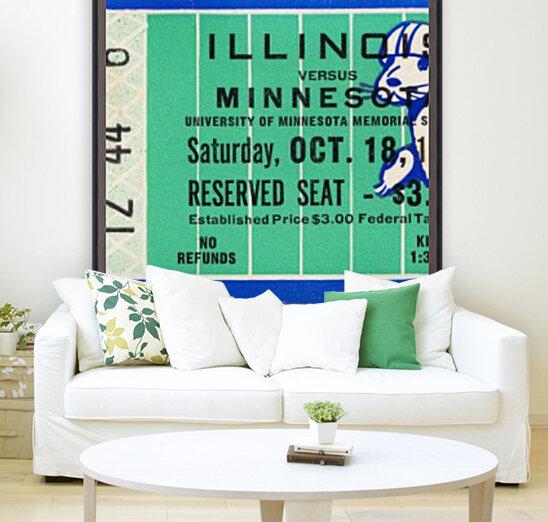 1952 Minnesota vs. Illinois  Art