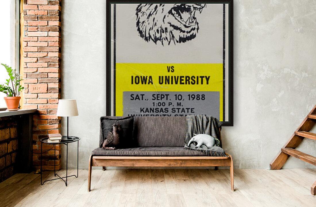 1988 Kansas State vs. Iowa  Art