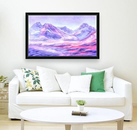 Mount Fairweather Canada  Art