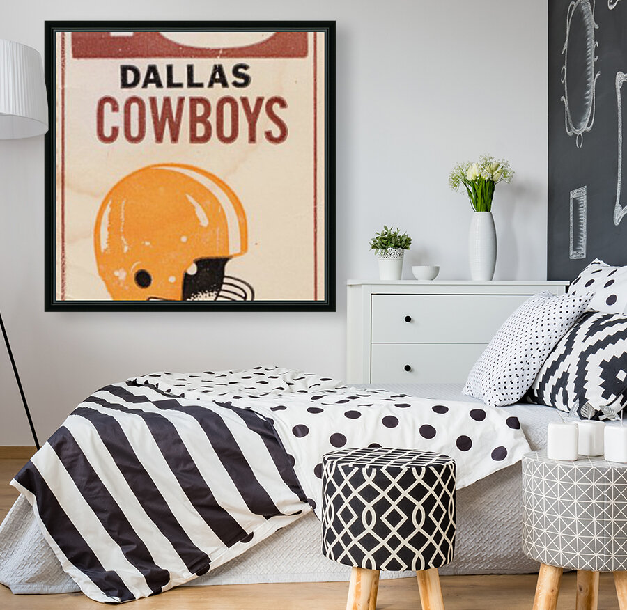 1969 Cleveland Browns vs. Dallas Cowboys  Art