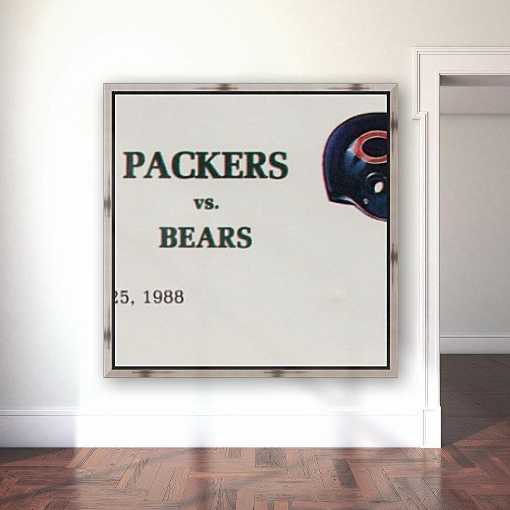 1988 Green Bay Packers vs. Chicago  Art