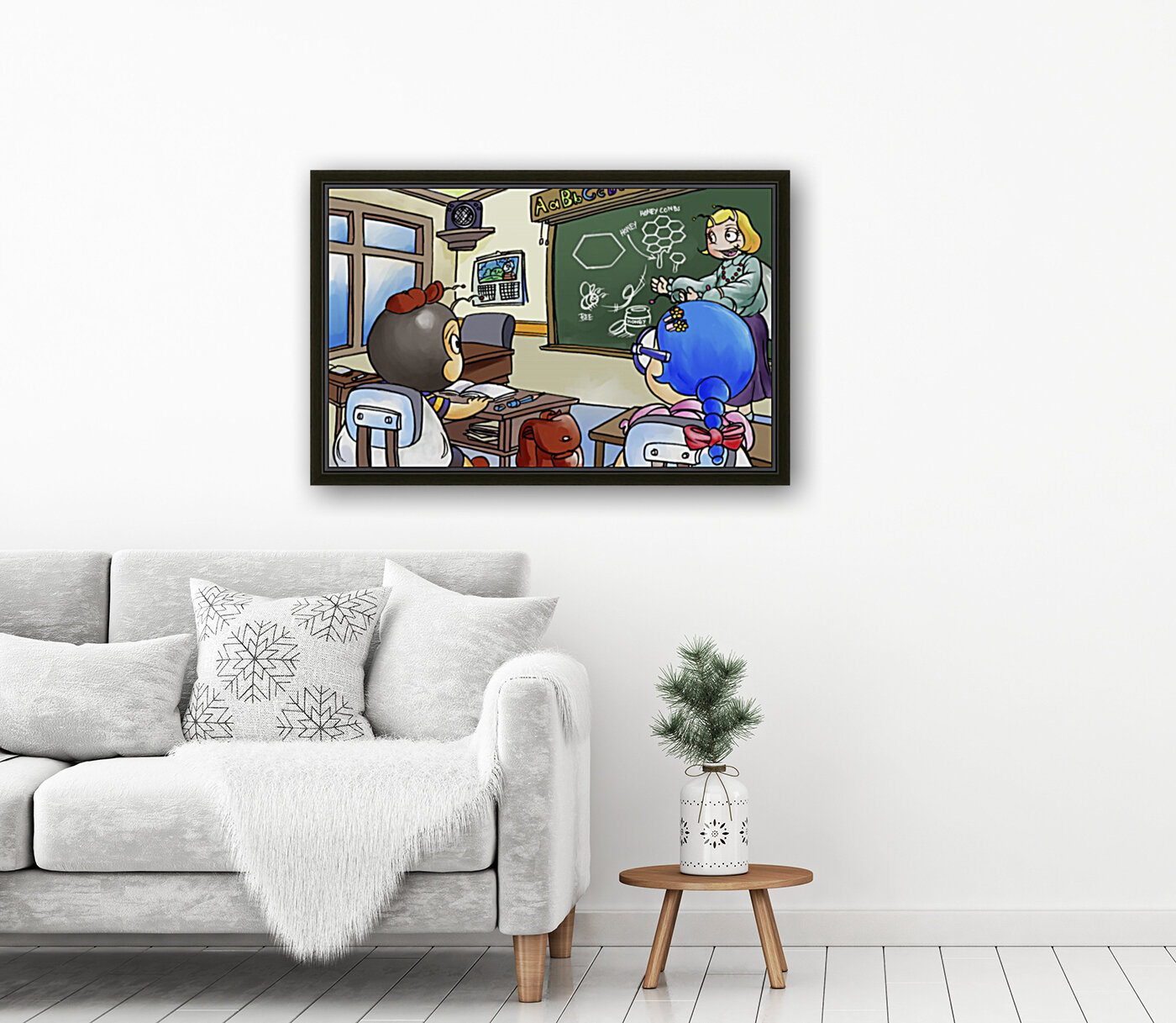 School Days - Teacher - Bugville Critters  Art