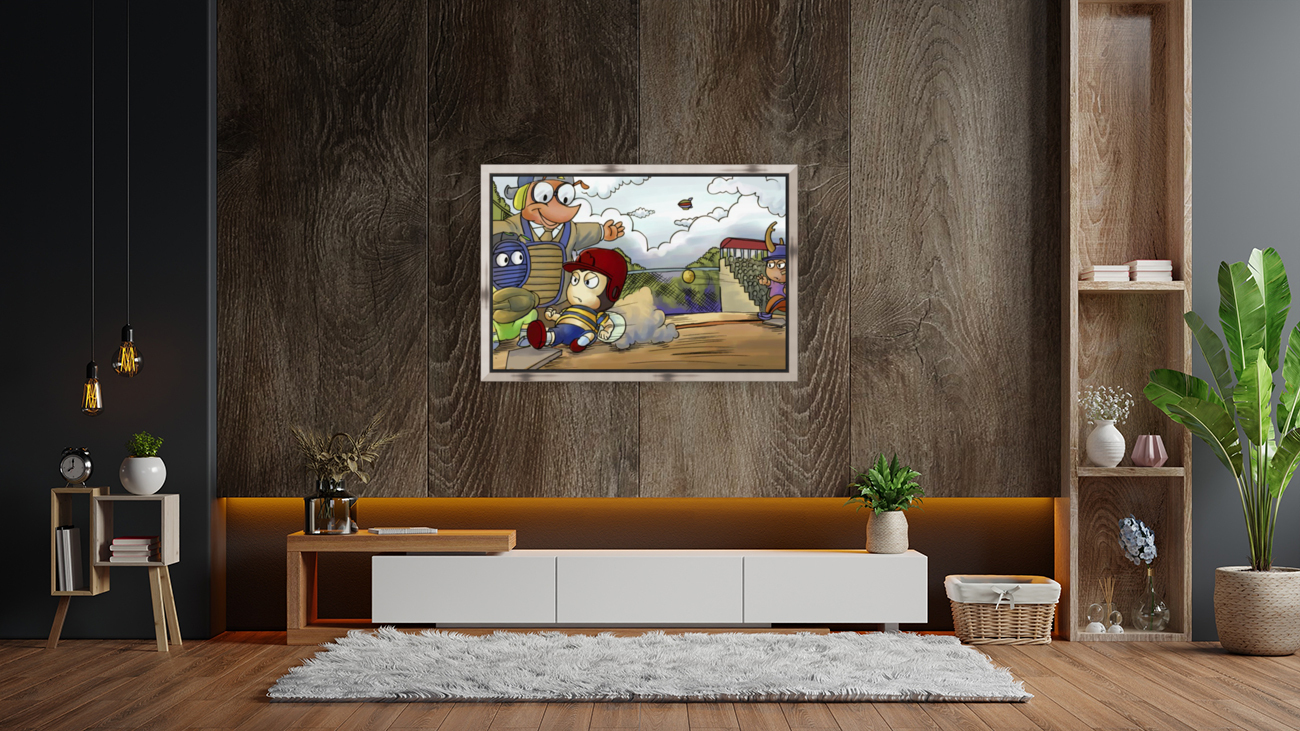 Home base slide  Art