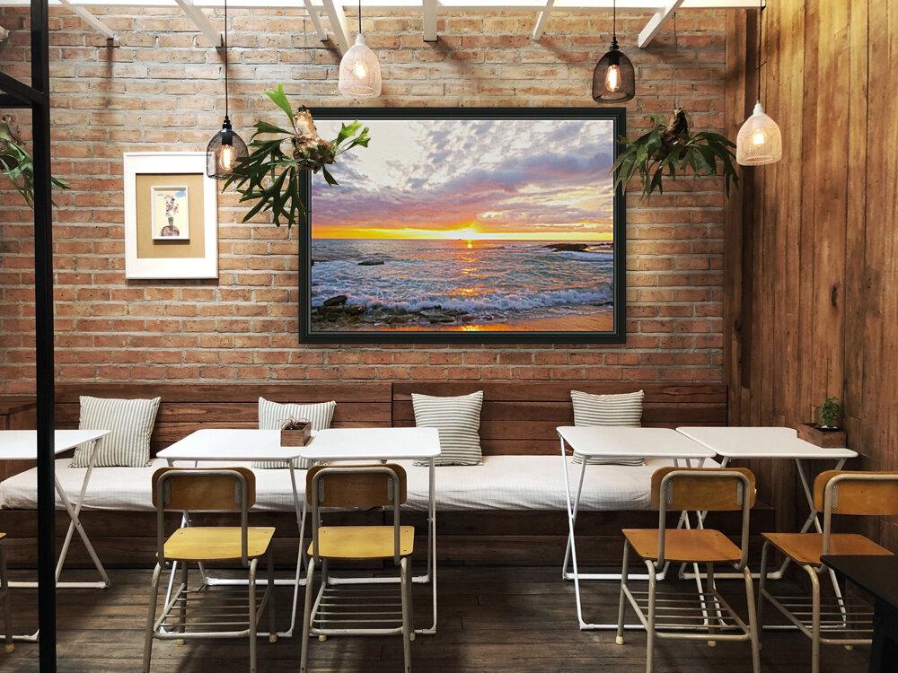 Golden Rays Across the Bay  Art