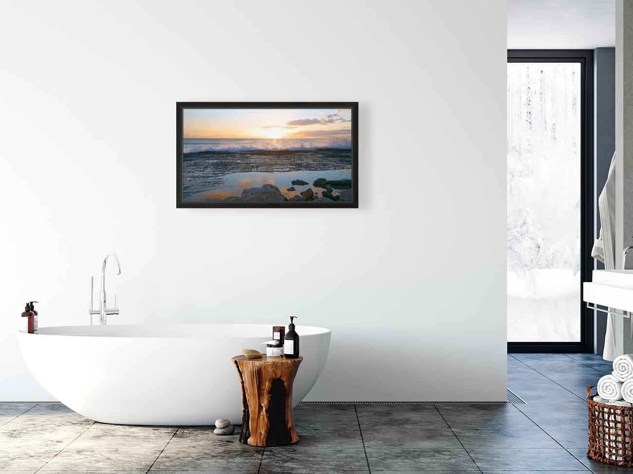 Reflections at the Sea Shore  Art