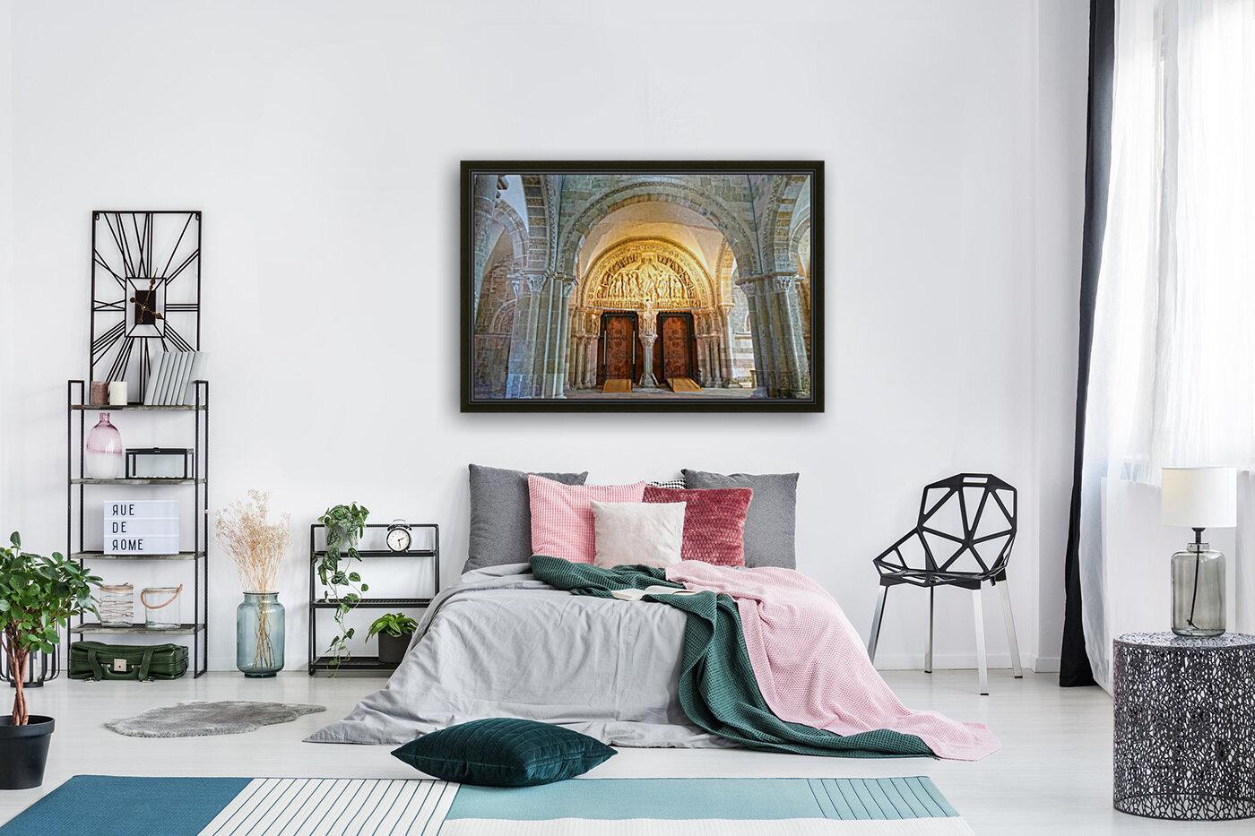 Basilica of Sainte Marie Madeleine 3 of 5 @  Vezelay France  Art